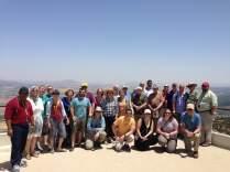 NCIP pastors at Caesarea Maritima in Israel